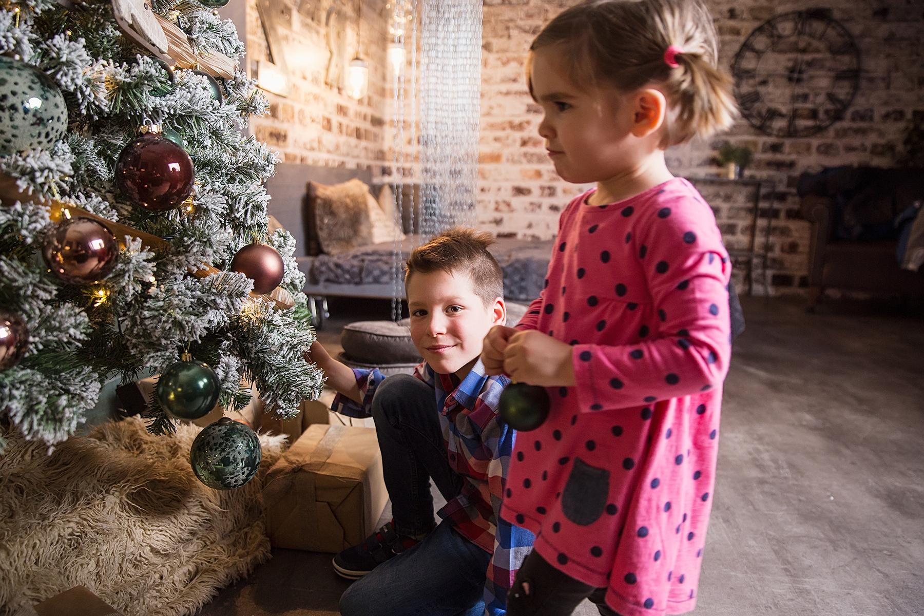 Karácsonyi családi fotózás stúdióban I. - Werk képekkel
