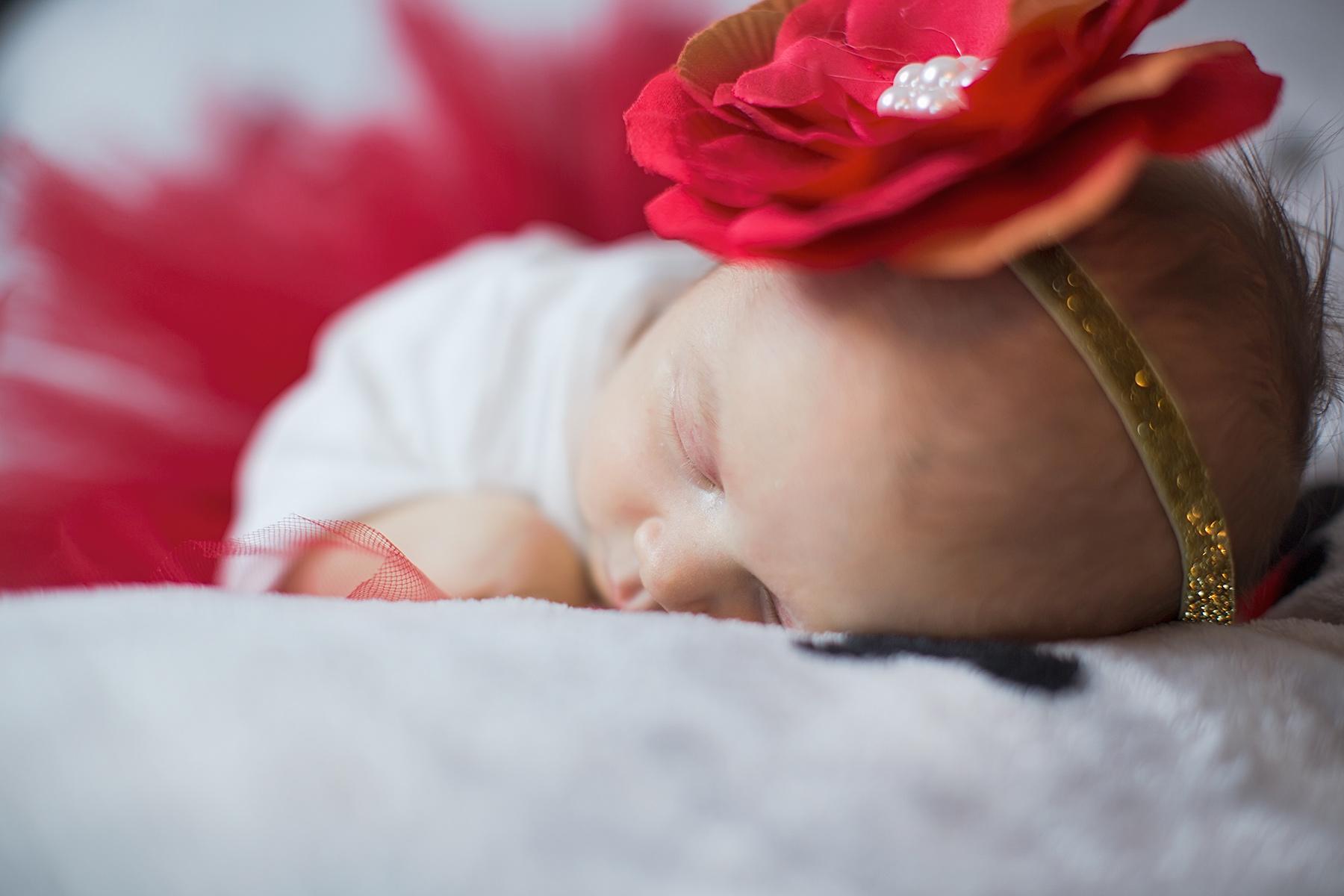 Léna fotózása – babafotózás