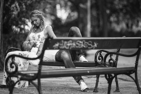 jegyesfotózás: Niki és Alex